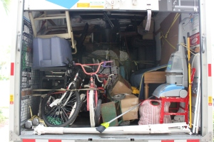 Our Moving Truck Mess